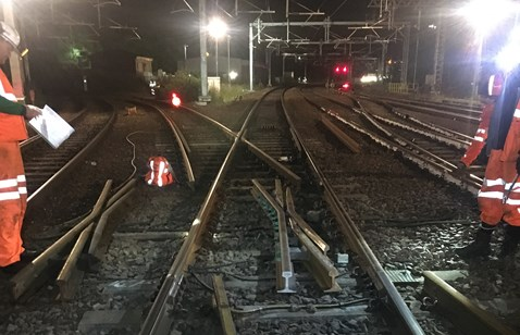5 July Defective sections removed