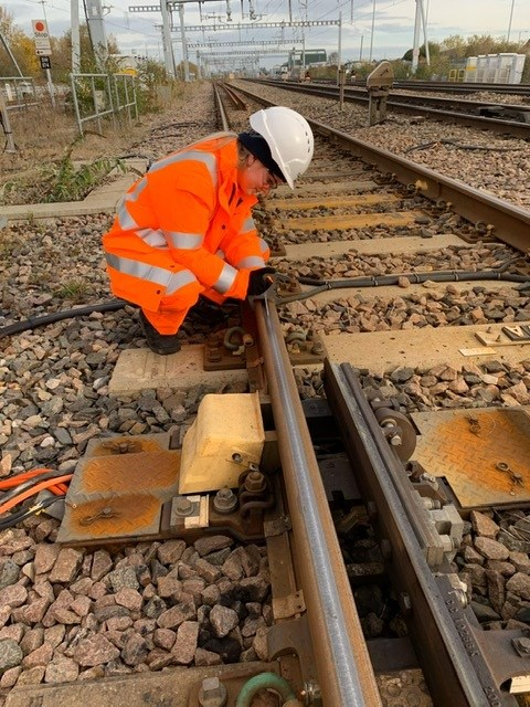 Your journey on the railway starts here - applications now open for Network Rail's apprenticeship scheme: Morgan Powell 2nd year apprentice on Western route