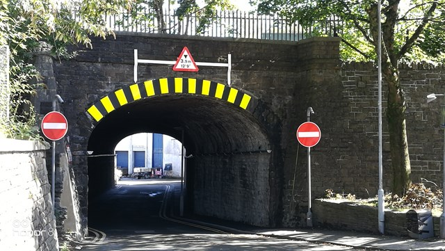 Station Road reopened following completion of crucial maintenance work to Mynydd underbridge: Mynydd completion 2