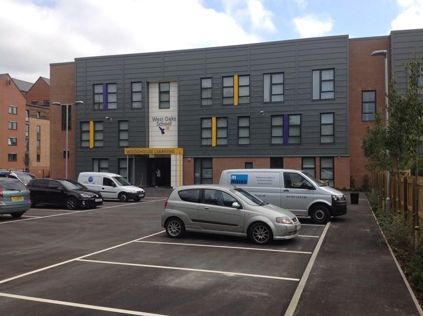Modern new campus opens for Leeds special school : westoaksnewbuilding.jpg