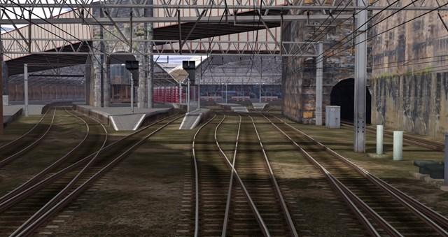 Liverpool Lime Street VR - platform view existing