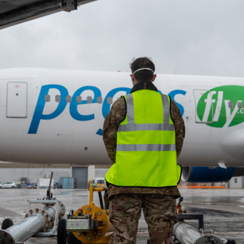 PPE shipment arrives in Cardiff Airport