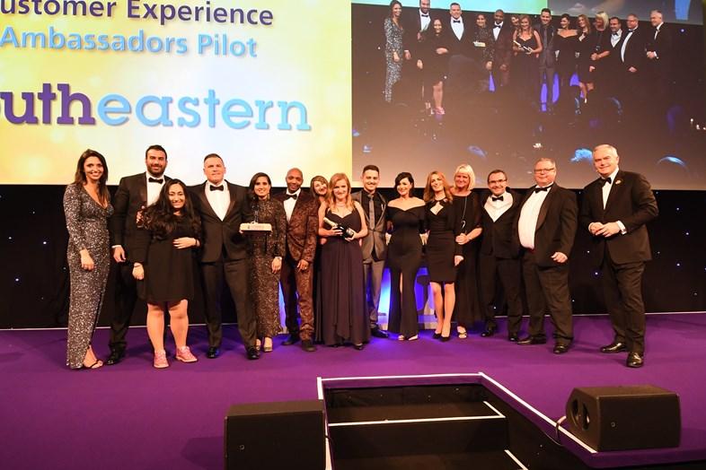 Southeastern Ambassadors win National Rail Award for excellence in customer service: CSAmbassadors