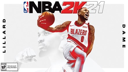 NBA 2K21 - Damian Lillard Current-Gen Cover Horizontal