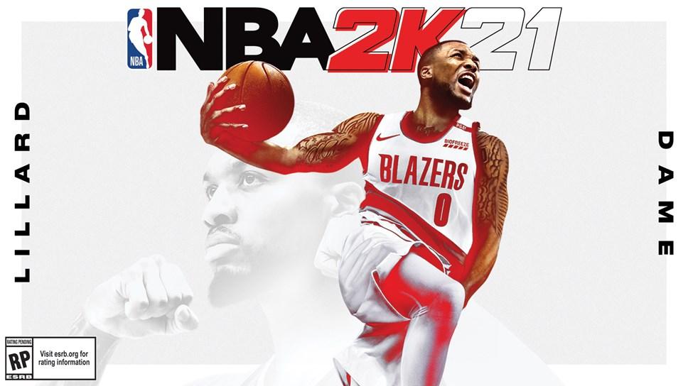 NBA 2K21 - Damian Lillard Current-Gen Cover Horizontal