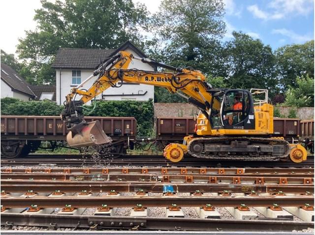 Full speed ahead! Trains back at 90mph after Weybridge engineering work success: Weybridge 2
