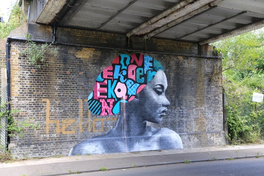 Network Rail works with street art festival to turn Brockley bridges into works of art: Brockley Street Art