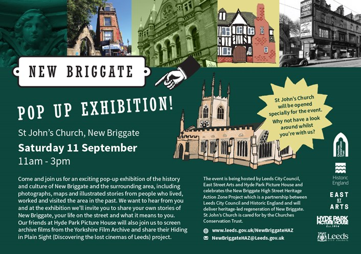 Day to remember as pop-up exhibition tells story of New Briggate: New Briggate exhibition