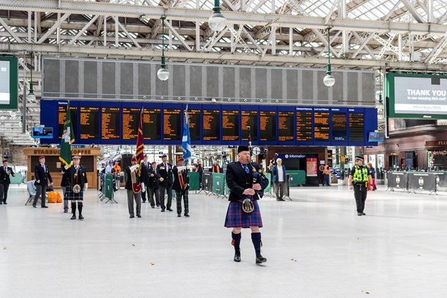 Scotland's Railway marks 75th Anniversary of VE Day: VE Day Glasgow 1100 service