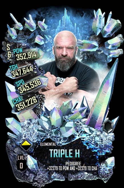 WWESC S6 Triple H Elemental