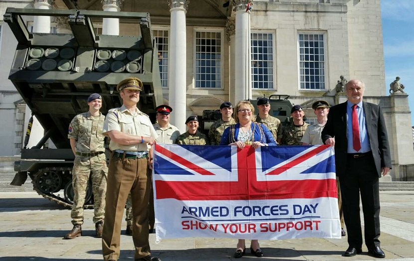 Armed Forces Day countdown begins with flag raising ceremony: armedforces1-2.jpg
