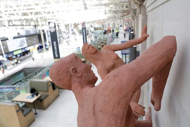 Festival of Britain sculpture returns to London Waterloo: Sunbathers- over Waterloo 2