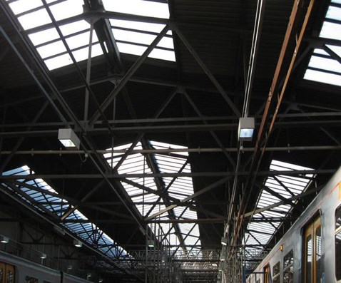 Birkenhead North TMD roof before