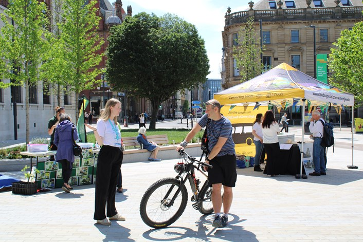 New toolkit launched ahead of Car Free Day to help Leeds residents host community street events.: CleanAirDay 17.06.21