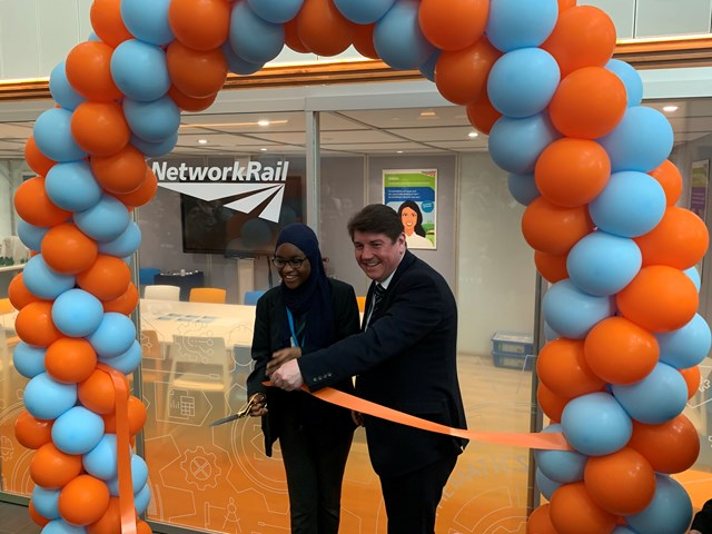 The facility was opened this morning by Stephen Metcalfe MP