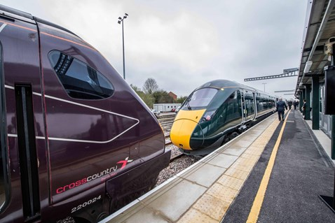 A new platform at Bristol Parkway officially opened today, 13 April
