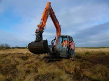 Peatland restoration at Moss of Kinmundy