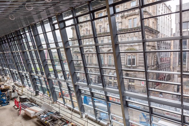 Glasgow Queen Street glazing 3