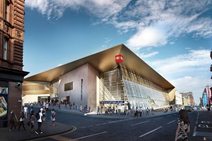 Queen St station artist impression