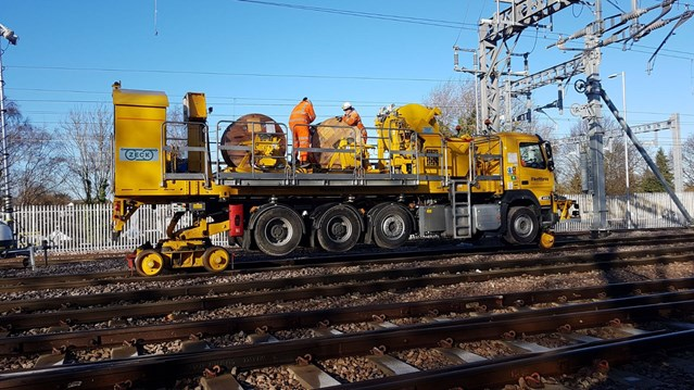 Fewer delays for Norfolk, Suffolk and Essex rail passengers following Christmas upgrades: Rewiring at Shenfield