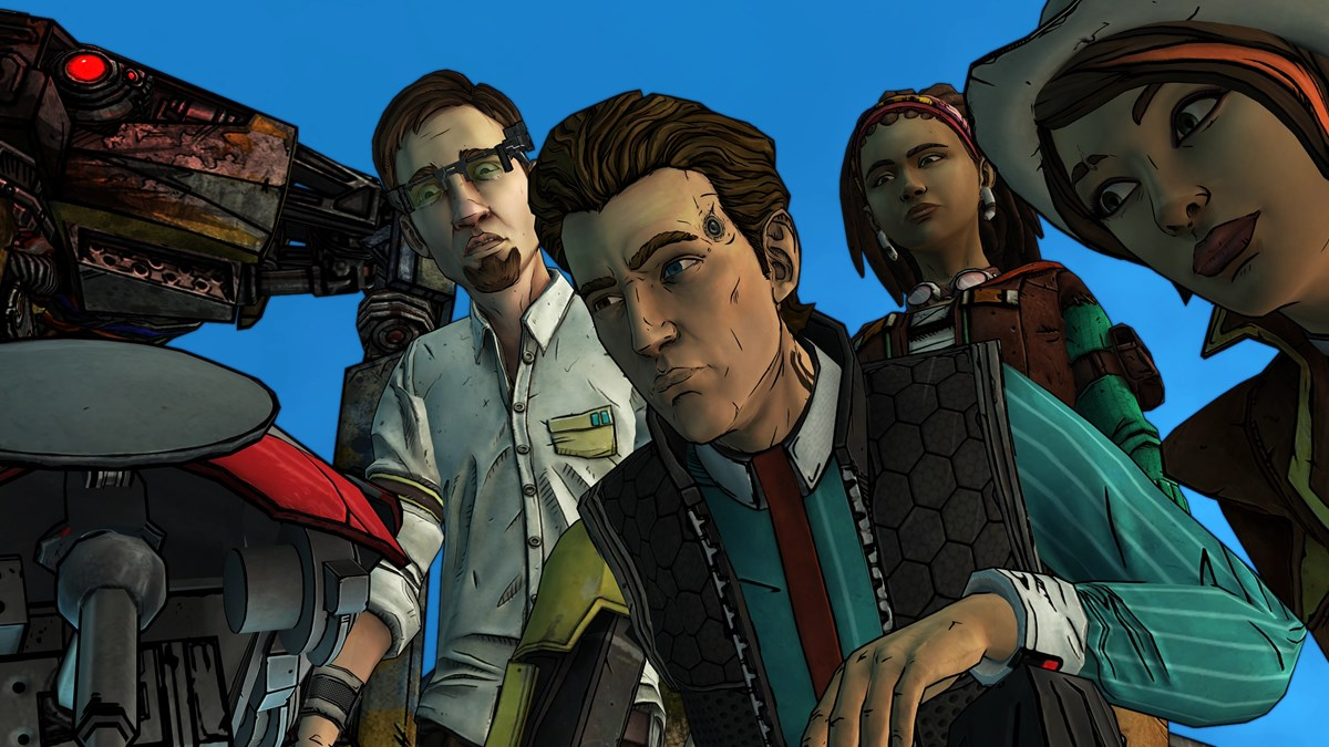 Tales from the Borderlands - Group Shot