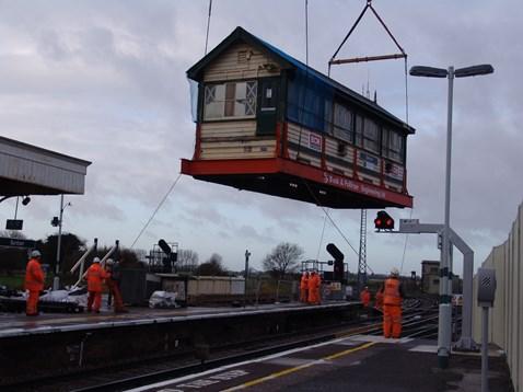 Barnham Signal Box - The Lift