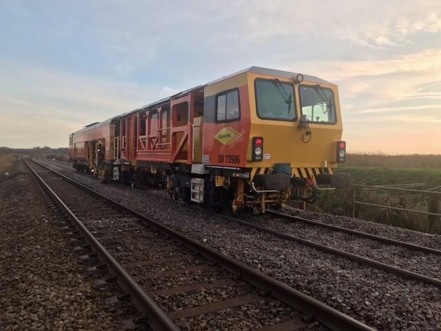 Somerleyton track renewal 2