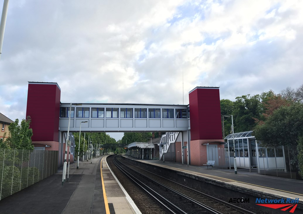 More than 4.7 million passengers in south London to benefit from new lifts and footbridges as plans progress for Access for All improvements: Coulsdon Access for All