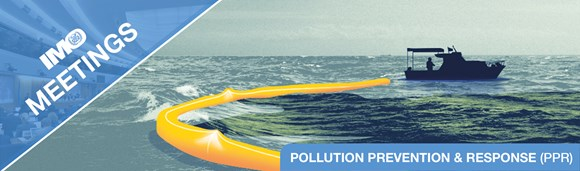 Sub-Committee on Pollution Prevention and Response (PPR 7), 17-21 February 2020: IMO meetings banner PPR EN
