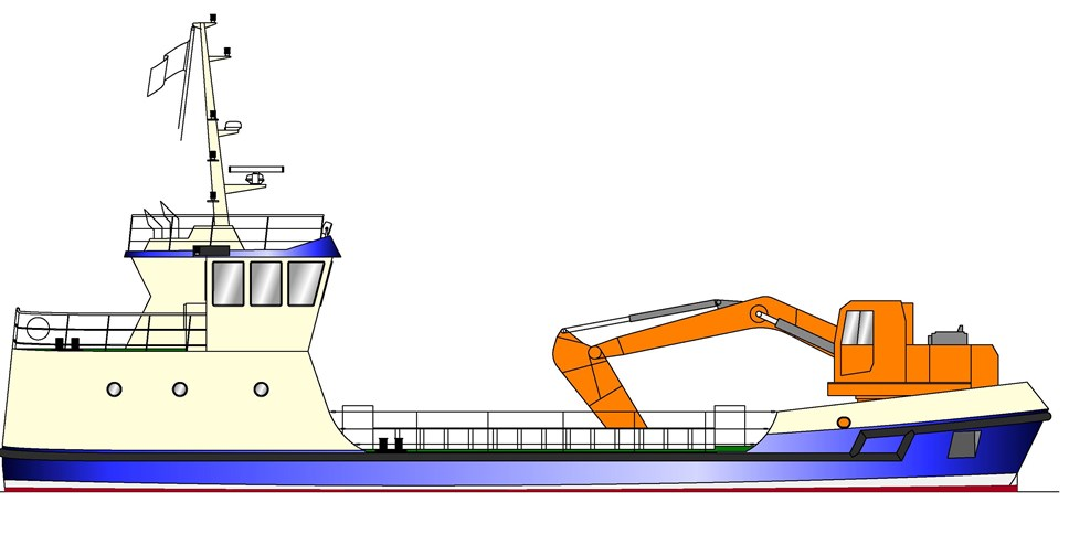 Pupils to help name new dredger