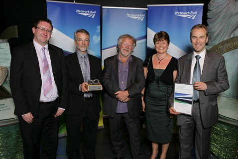 Community Partnership Award winners