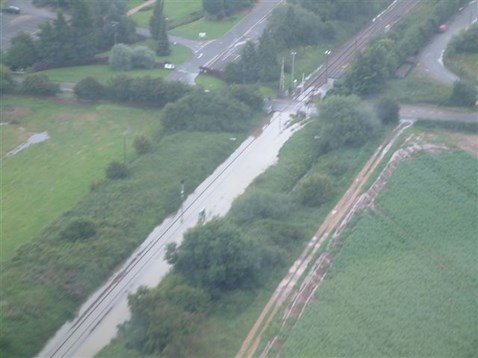 Cotswold Line Flooding