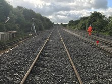 Track will be lowered near Chippenham