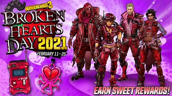 BL3 - Broken Hearts 2021 - Rewards Infographic