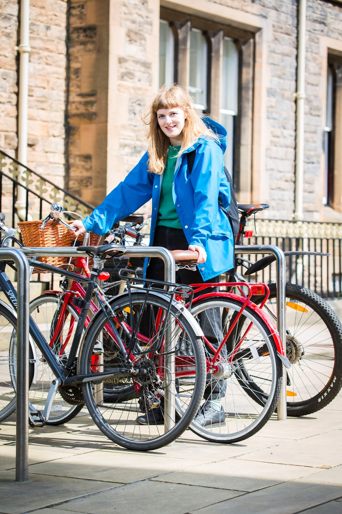 University of Glasgow - Cycle Friendly improvements
