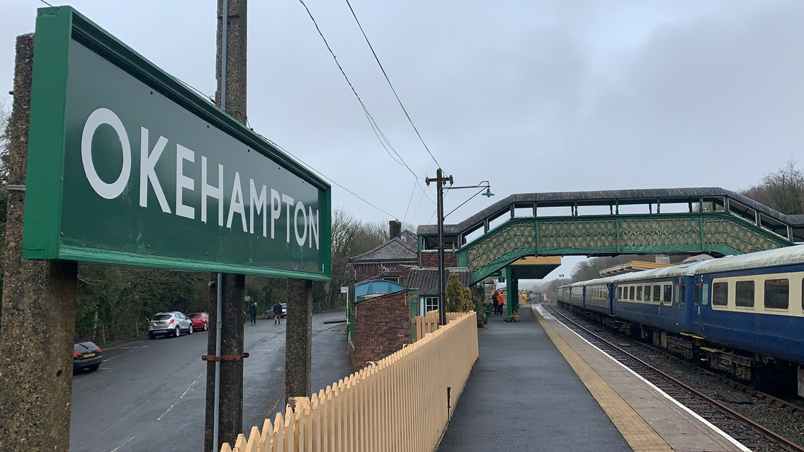 Devon communities to be better connected as railway line set to reopen for first time in 50 years: Okehampton train station