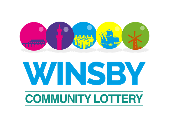 Still time to sign up for Winsby Community Lottery first draw: Winsby lottery logo