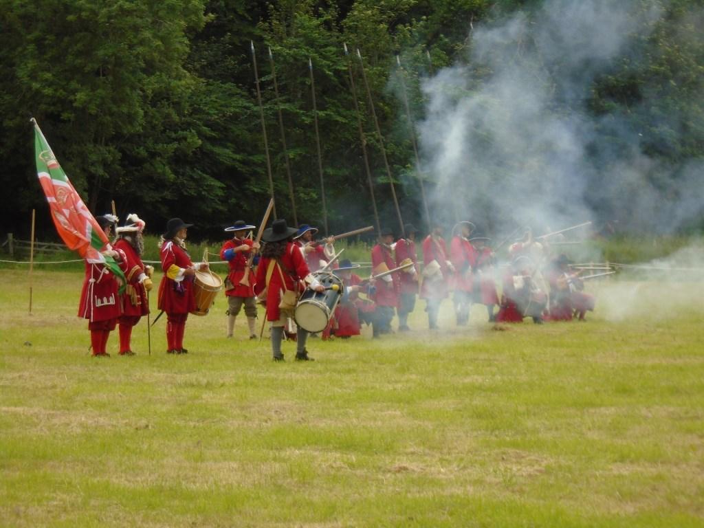 Re-enactment of Battle of Killiecrankie