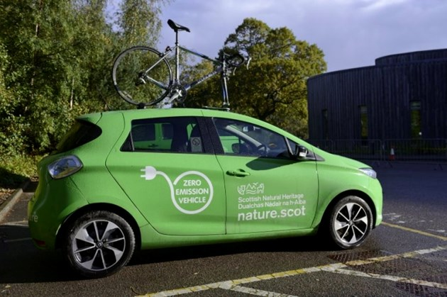 SNH success in reducing carbon emissions: SNH Electric Car
