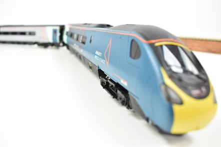 Hornby Pendolino on for auction