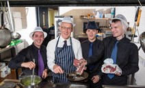 John Swinney has lunch with vulnerable young offenders: Photographs ©John Young / YoungMedia.co.uk