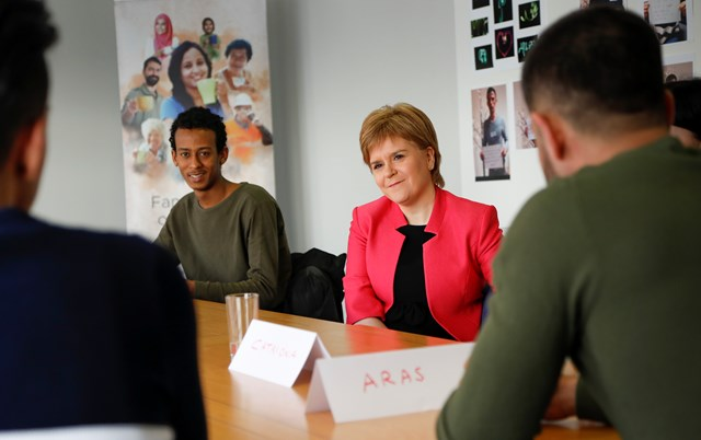 First Minister at Scottish Guardianship Service 1