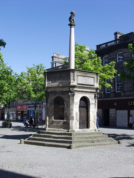 Ancient Elgin monument to be refurbished: Ancient Elgin monument to be refurbished