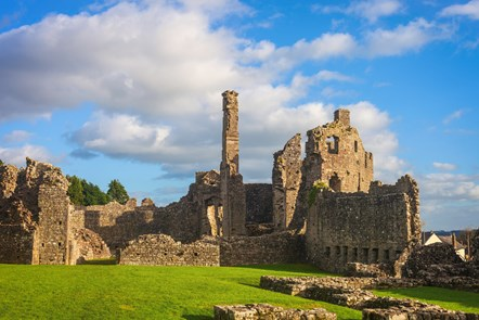 Another new era for Coity Castle as conservation starts this spring: Coity