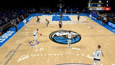 NBA 2K22 Apple Arcade Mavericks