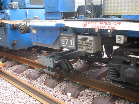Track laying machine working on Airdrie-Bathgate line_3