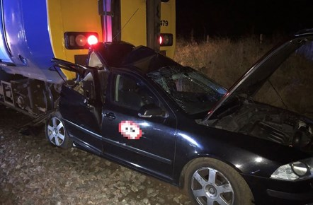 Disruption to rail services following car and train collision - Hexham: Hexham collision
