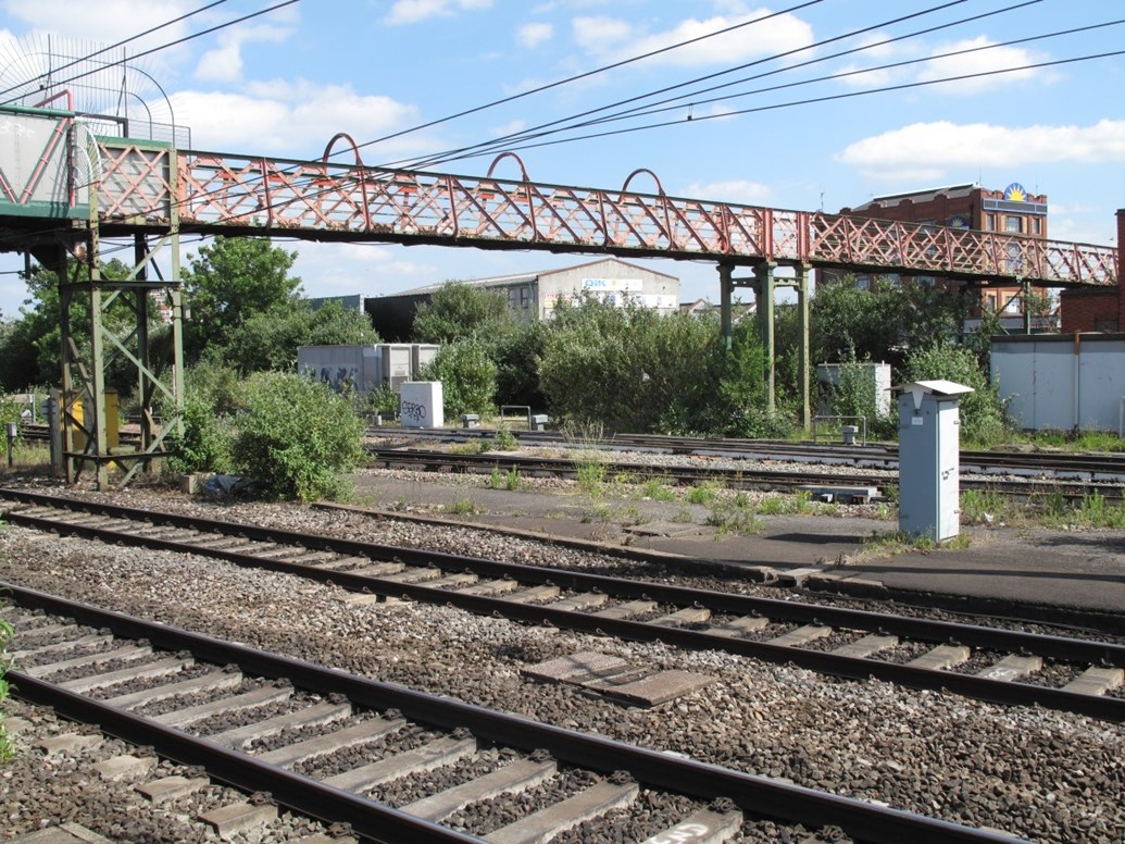 Industry collaboration sees Southall's Merrick Road footbridge moved to new home at Didcot Railway Centre: GWS photo IMG 8630.1
