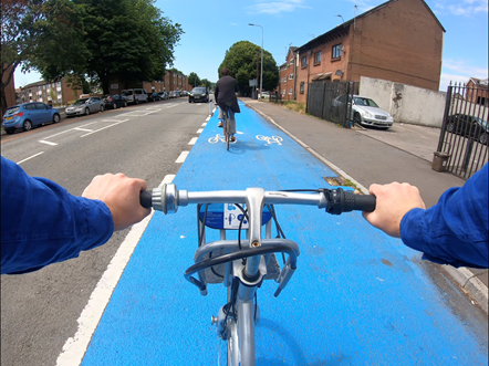Cardiff Active Travel route