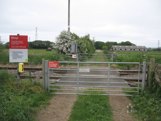 Ivy Lea Farm crossing in June 2016